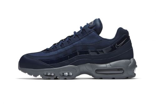 "Nike Adds Patent Leather Details to Air Max 95 ""Obsidian"""