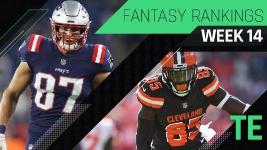 Week 14 Fantasy Rankings: TE