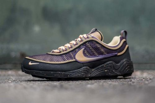 """Nike's Zoom Spiridon Gets Fixed with """"Anthracite/Elemental Gold"""""""