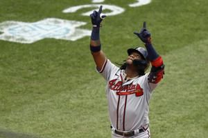 Acuna hits 3 home runs in Atlanta's doubleheader sweep