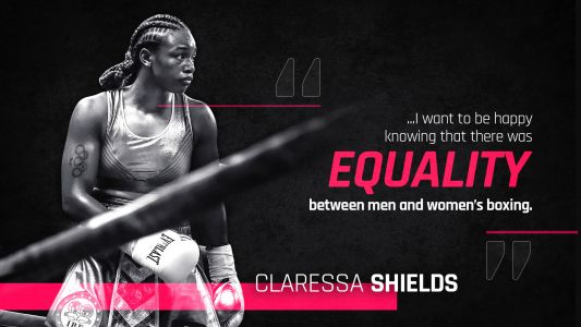 Although focused on Hannah Rankin, Claressa Shields has her sights on Christina Hammer and equality in women's boxing