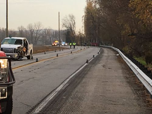 TRAFFIC: HIghway 111 shut down near 7 Mile Lane due to 2-vehicle crash