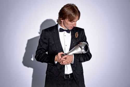 Luka Modric Crowned the Best Male Player at This Year's FIFA Awards