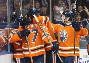 Strome scores 2 to lead Oilers to 5-3 win over Sharks