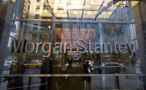 Morgan Stanley is rallying after earnings