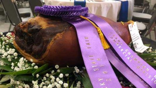 Grand Champion Ham auctioned off for $1 million at Kentucky State Fair