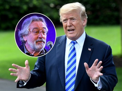 Trump wades into feud with Robert De Niro, calls the actor 'Low IQ' and 'punch-drunk' from boxing movies