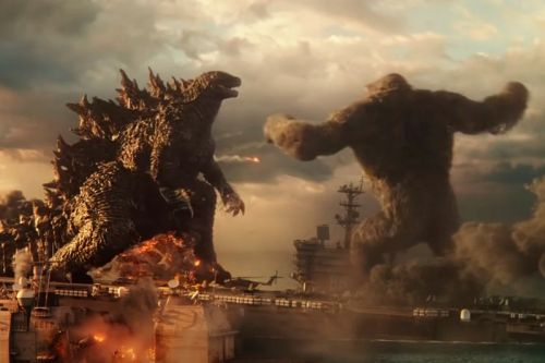 New 'Godzilla vs. Kong' Clip Reveals First Meeting Between the MonsterVerse Icons