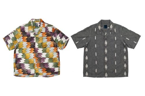 Visvim Drops a Duo of Unique Free Edge Shirts