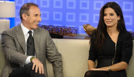 Matt Lauer Once Told Sandra Bullock That His Screensaver Was a Naked Photo of Her