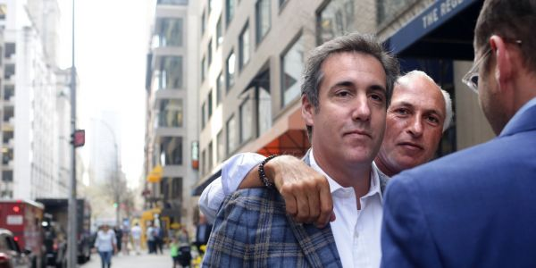 Trump is reportedly worried and in 'dark moods' over scrutiny of his shadowy lawyer Michael Cohen