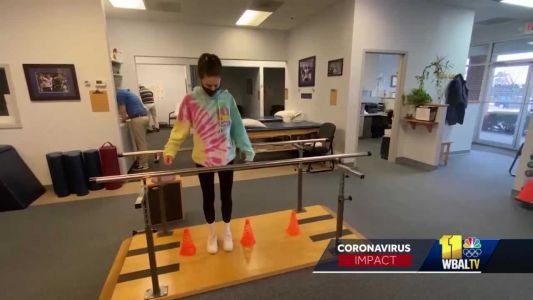 Kennedy Krieger Institute helps kids in need of therapy after COVID-19 diagnosis
