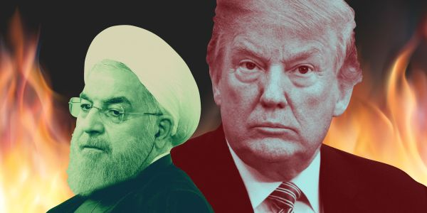 Trump is beating up on Iran - and it's making Obama look weak