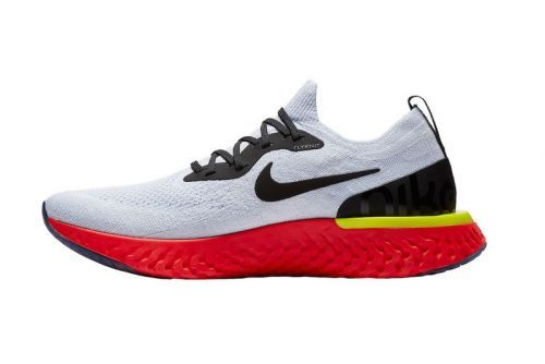 """Another Look at the Nike Epic React Flyknit """"True White"""""""