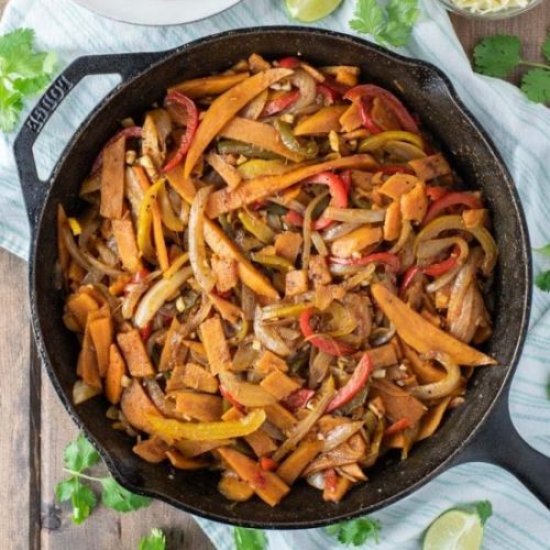 Sweet Potato Fajitas