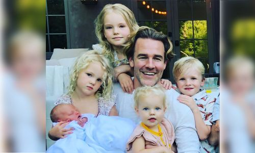 James Van Der Beek Keeps It Real, Shares Home Birth Photo Featuring Placenta in a Mixing Bowl
