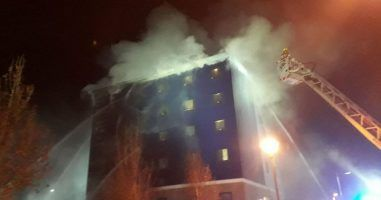 London Fire Brigade rescues 160 people in Travelodge Hotel fire