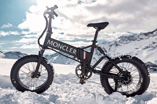 Moncler Genius and MATE Come Together on an eBike for Urban Riding and Mountain Exploration