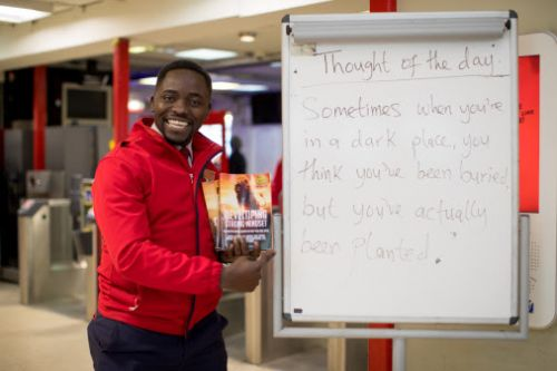Virgin Trains: Inspirational quotes on station platforms prove a hit with passengers