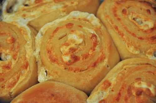 Swirly Cheese Buns