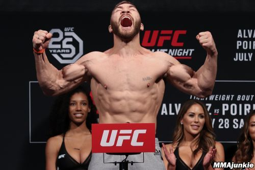 UFC on FOX 30 ceremonial weigh-in video highlights, photos