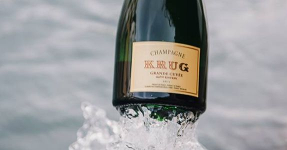 You Can Now Sip Free Krug Champagne in Select American Airlines Lounges