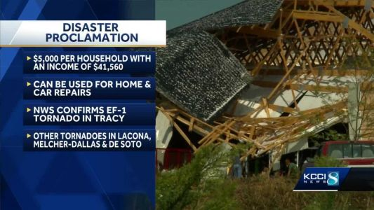 Gov. Kim Reynolds makes emergency proclamation in wake of Tuesday storms