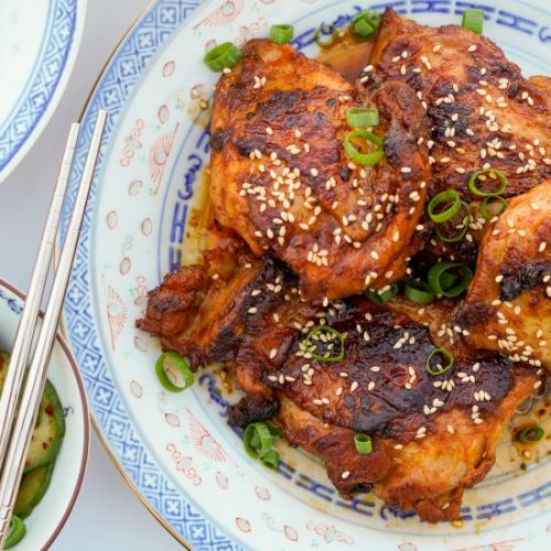 Easy Korean Gochujang Chicken