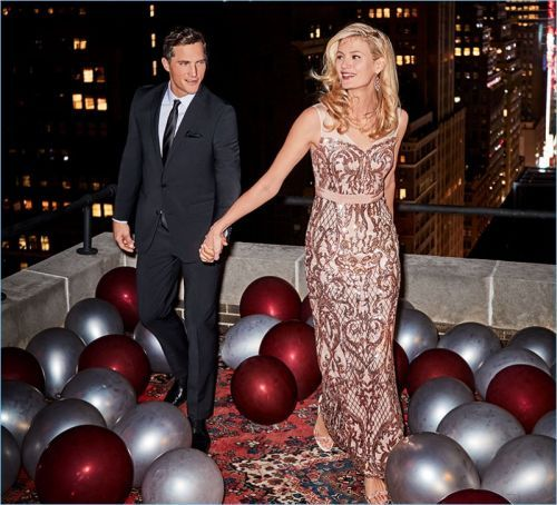 Party Season: Ollie Edwards Goes Formal with Macy's
