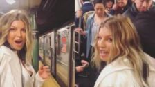 Fergie Rides The New York City Subway And It Will Never Be The Same