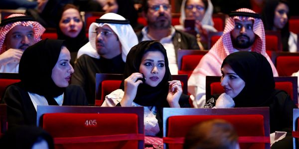 Saudi Arabia ended a 35-year ban on cinemas, pointing to the Crown Prince's hopes for modernization
