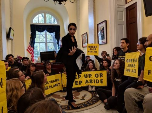 As New Green Deal Democrats cement their hold, climate change emerges as a top priority