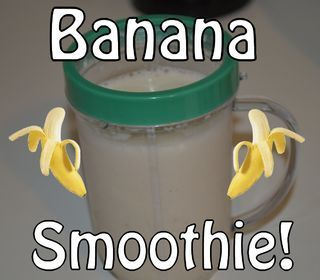Super-Simple Banana Smoothie