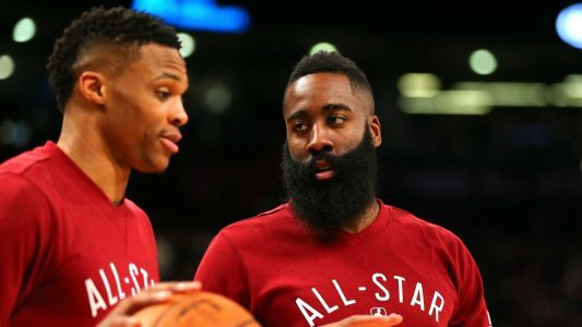 James Harden on Russell Westbrook trade: 'It's going to be a lot of fun this year'