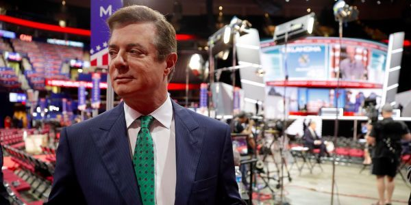 Paul Manafort reportedly met with Julian Assange months before WikiLeaks began dumping hacked emails