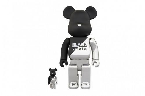 Medicom Toy Taps CLS and BLVCK SCVLE for a Shiny Set of Dual-Toned BE RBRICKS