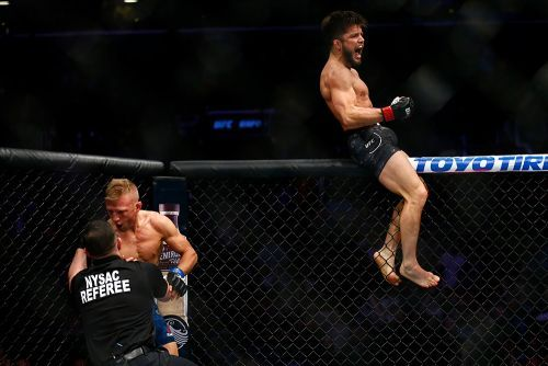 Henry Cejudo, Marlon Moraes trade barbs after T.J. Dillashaw vacates UFC bantamweight title