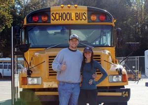 Thrifty minor leaguer to live in school bus during season