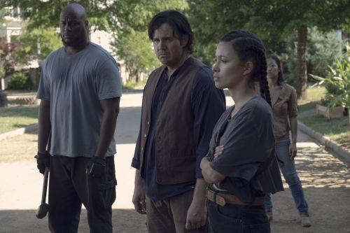 'The Walking Dead' just teased talking zombies on the show - here's what's really going on