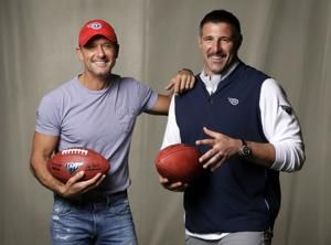 Country star, Titans coach talk about NFL draft in Nashville