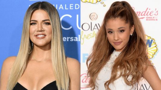 Khloé Kardashian Posts The Sweetest Comment After Trolls Attack Ariana Grande's Forehead