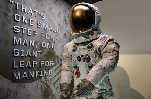 Neil Armstrong's Apollo 11 Spacesuit is Now Back on Display at Smithsonian