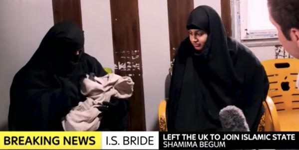 ISIS bride Shamima Begum's family is trying to force Britain to accept her as a citizen
