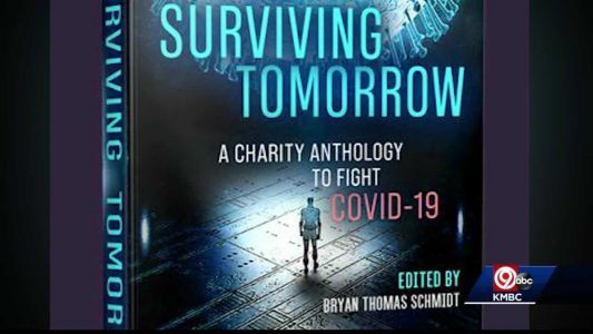 Author uses his writing skills to help in fight against COVID-19