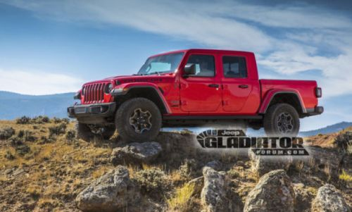 The 2020 Jeep Gladiator Pickup Truck: This Is It