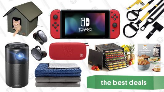 Tuesday's Best Deals: A Nintendo Switch Bundle, Weighted Blankets, Food Dehydrator, and More