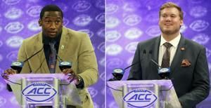 No. 2 Clemson dominates AP All-ACC team again with 11 Tigers