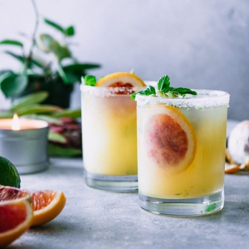 Blood Orange Kiwi Margaritas