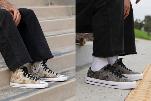 Converse CONS Drops Digi Camo-Coated Takes on the Chuck Taylor All Star Pro and One Star