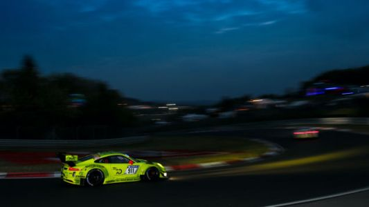 There's a new Porsche 911 GT3 R coming soon, but that doesn't mean the current car is a slouch